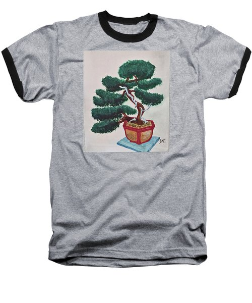 Bonsai #3 Baseball T-Shirt