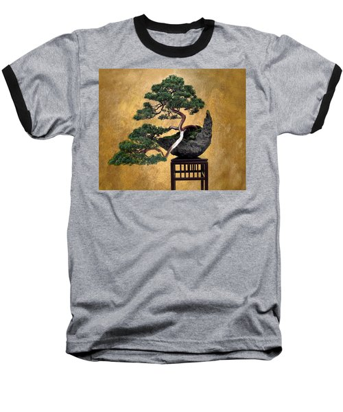 Bonsai 3 Baseball T-Shirt