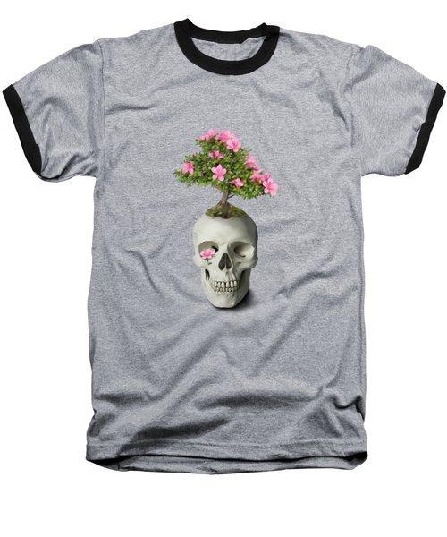 Bonsai Skull Baseball T-Shirt