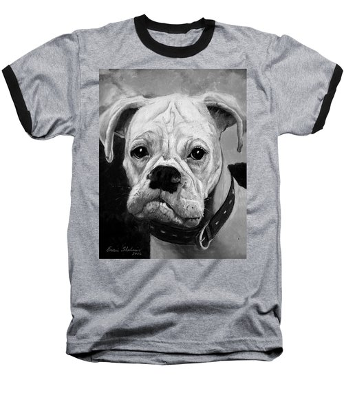 Boo The Boxer Baseball T-Shirt