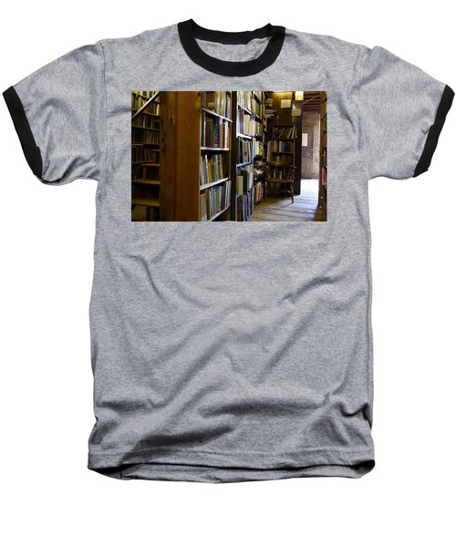 Baldwin's Book Barn Baseball T-Shirt