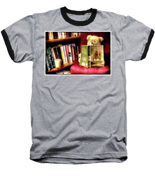 Bookworm Ted Baseball T-Shirt