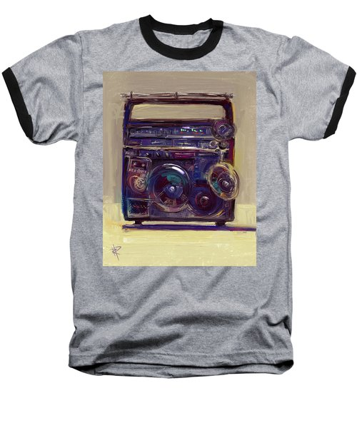 Boom Box Baseball T-Shirt