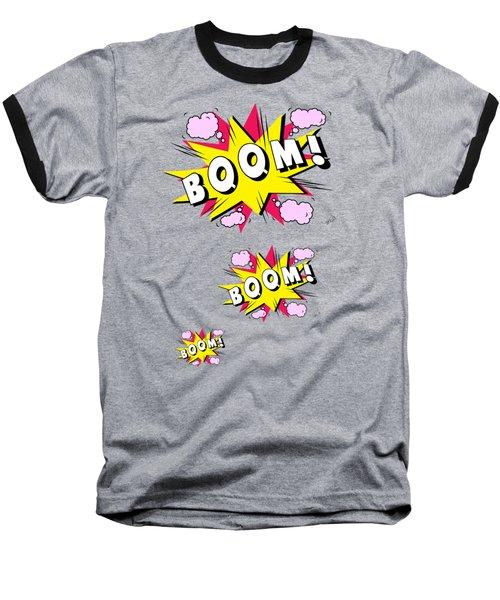 Boom Comics Baseball T-Shirt