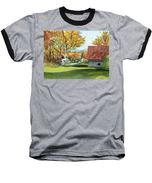 Boone Bungalow And Barn Baseball T-Shirt