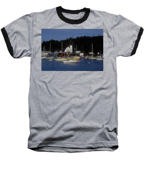 Boothbay Harbor Maine 2 Baseball T-Shirt