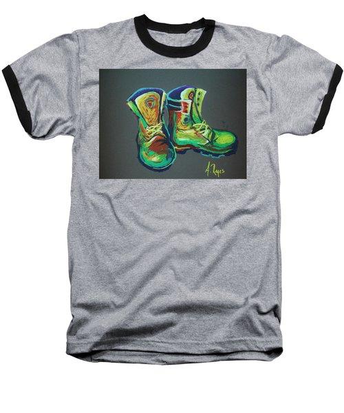 Boots Baseball T-Shirt