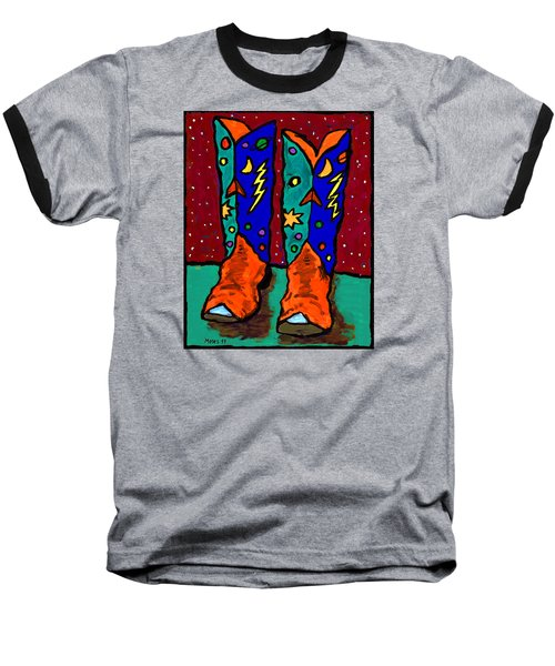 Boots On Rust Baseball T-Shirt