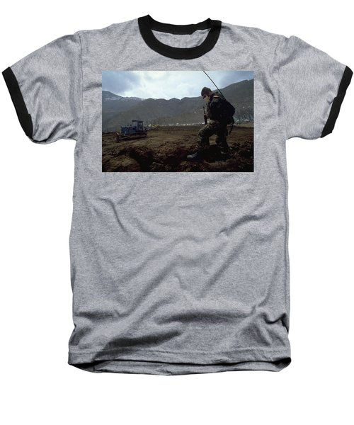 Boots On The Ground Baseball T-Shirt