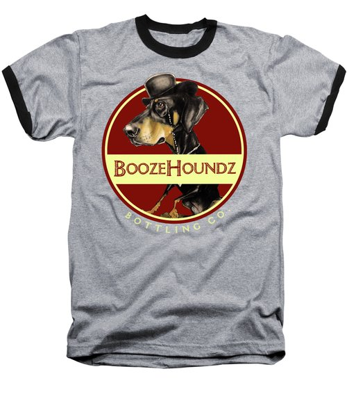 Boozehoundz Bottling Co. Baseball T-Shirt