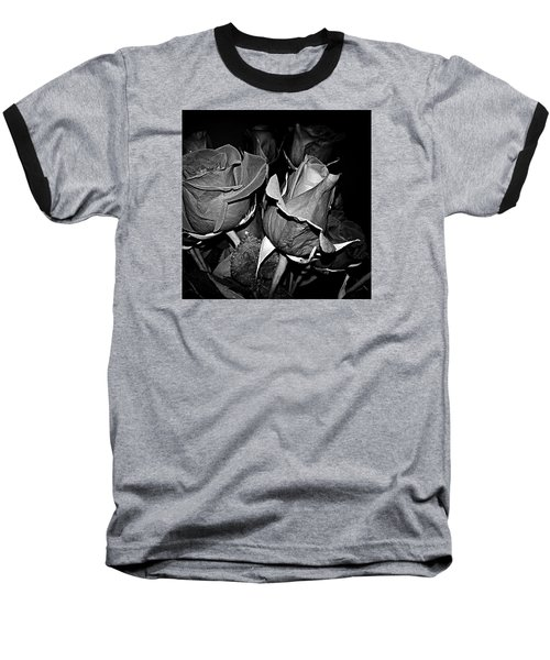 Boquet Of Roses Baseball T-Shirt by Ester  Rogers