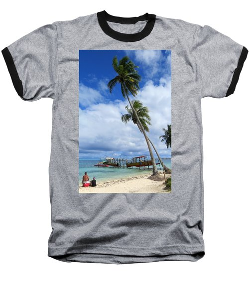 Bora Bora View Baseball T-Shirt