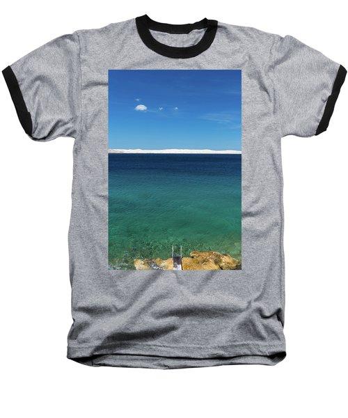 Bora In Velebit Kanal I Baseball T-Shirt