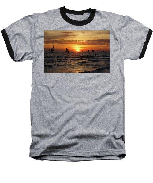 Boracay Sunset Baseball T-Shirt