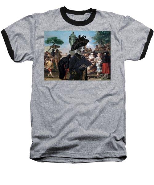 Border Collie Art Canvas Print - The Minuet Baseball T-Shirt