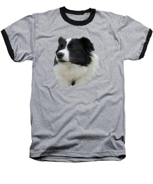 Border Collie Baseball T-Shirt