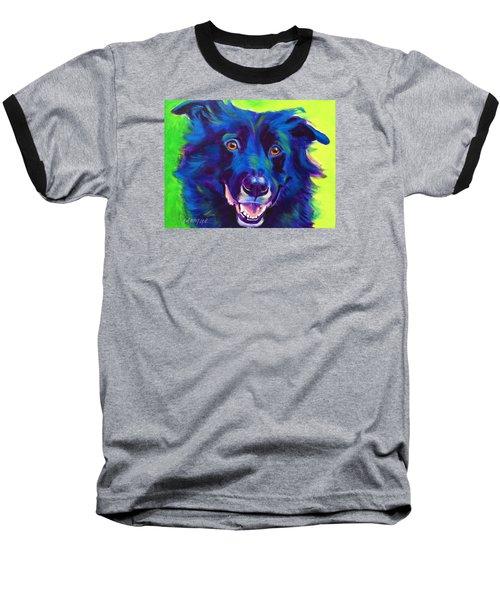 Border Collie - Viktor Baseball T-Shirt