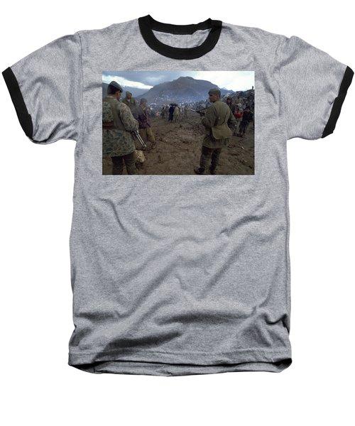 Border Control Baseball T-Shirt