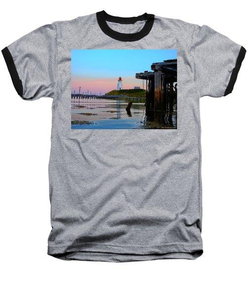 Border Lights Baseball T-Shirt