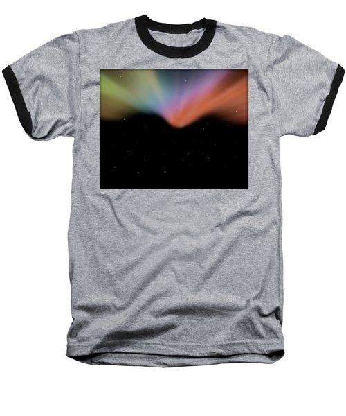 Borealis Baseball T-Shirt by Carol Crisafi