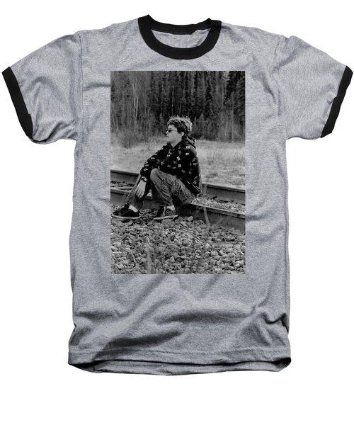 Baseball T-Shirt featuring the photograph Boredom by Tara Lynn