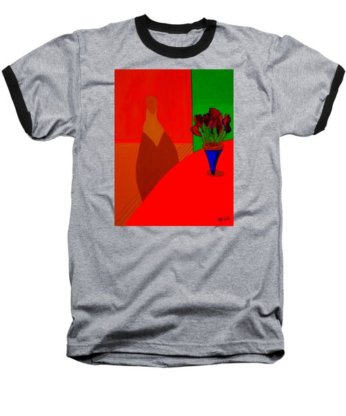 Baseball T-Shirt featuring the painting Boris by Bill OConnor