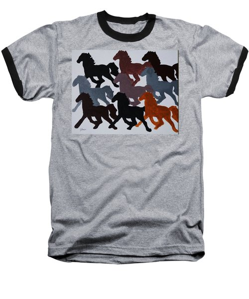 Born Free Baseball T-Shirt