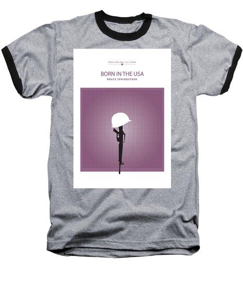 Born In The Usa -- Bruce Springsteen Baseball T-Shirt
