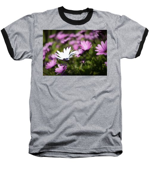 Baseball T-Shirt featuring the photograph Born To Stand Out by Lora Lee Chapman