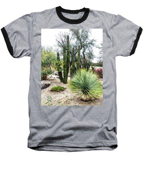Borrego Botanical Garden Baseball T-Shirt
