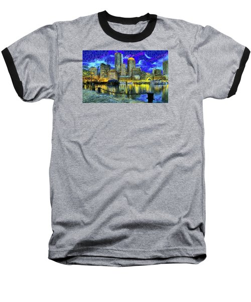 Boston 1 Baseball T-Shirt