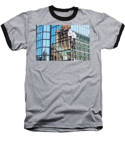 Boston At Different Angle Baseball T-Shirt