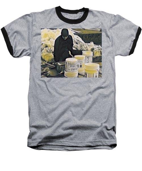 Boston Bucket Man Baseball T-Shirt