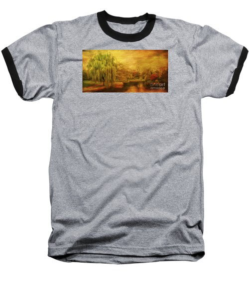 Boston Common In Autumn Baseball T-Shirt