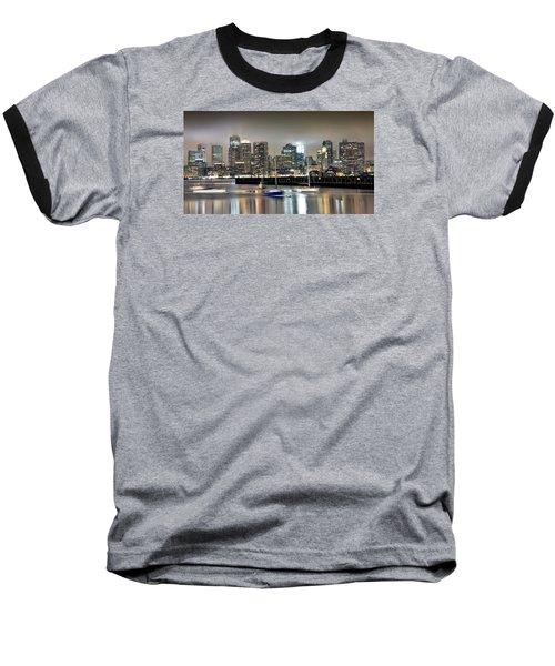 Boston Massachusetts Baseball T-Shirt by Brendan Reals