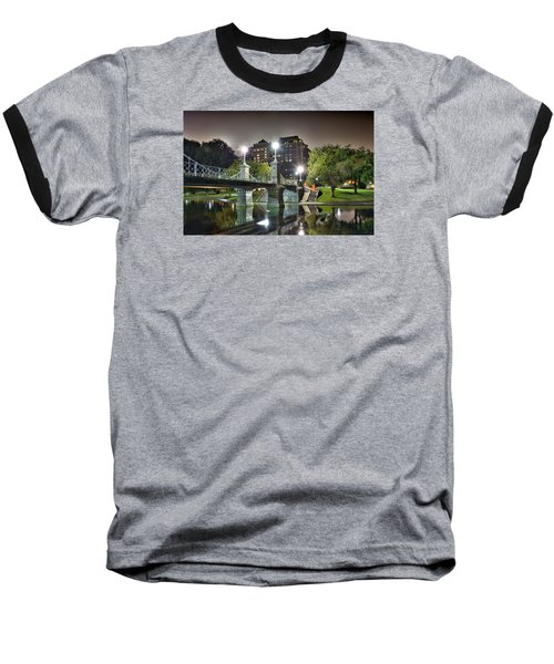 Boston Public Garden Baseball T-Shirt