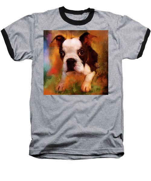 Boston Puppy Baseball T-Shirt