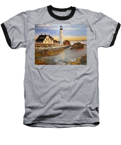Boston Rocky Coast Baseball T-Shirt