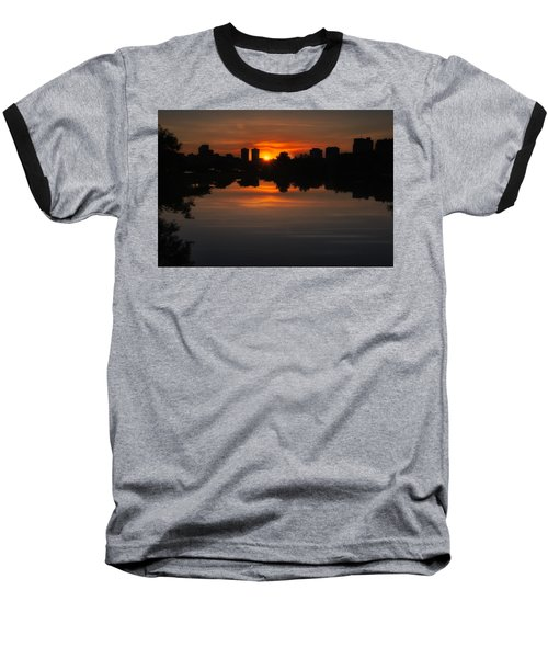 Boston Sunrise Baseball T-Shirt