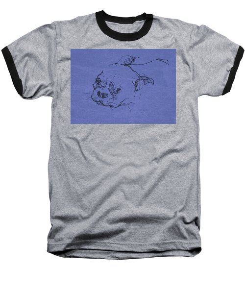 Boston Terrier Baseball T-Shirt