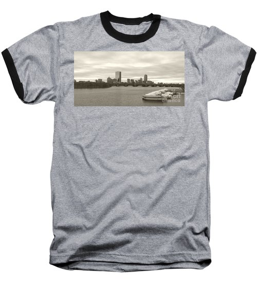 Baseball T-Shirt featuring the photograph Boston View by Raymond Earley