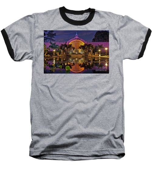 Botanical Building At Night In Balboa Park Baseball T-Shirt