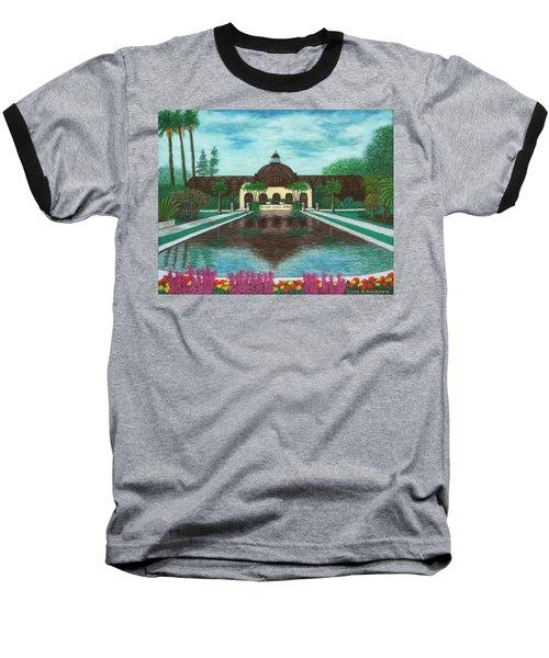 Botanical Building In Balboa Park 02 Baseball T-Shirt