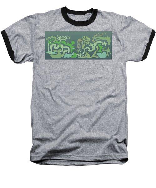 Botaniscribble Baseball T-Shirt