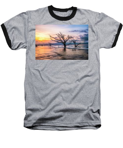 Baseball T-Shirt featuring the photograph Botany Bay Dawn by Phyllis Peterson