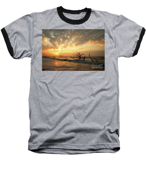 Botany Bay Sunrise Baseball T-Shirt