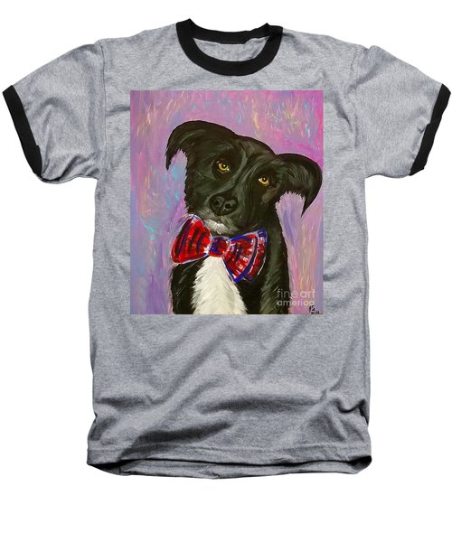 Bow Tie Boy Baseball T-Shirt