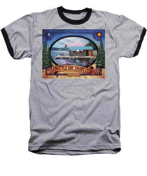 Bottle Bay Yacht Club Baseball T-Shirt