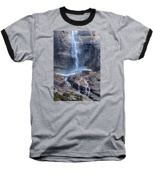 Bottom Part Of Upper Yosemite Waterfall Baseball T-Shirt