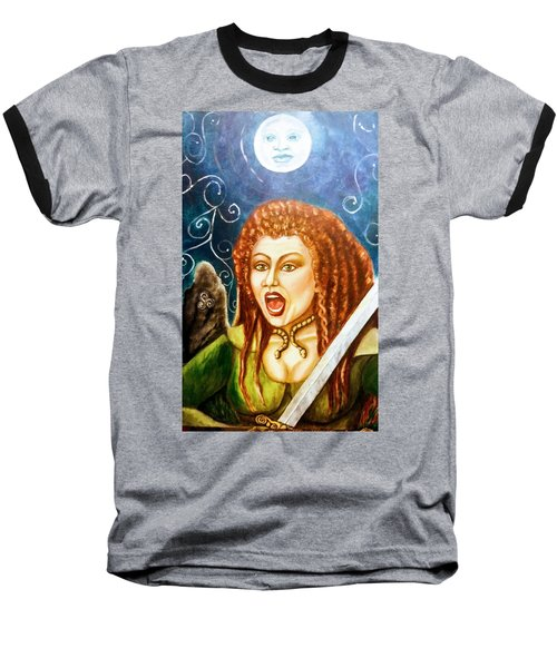Boudicca  Let Not Our Daughters Be Forgotten Baseball T-Shirt